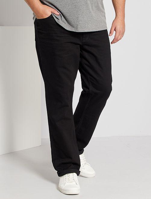 Jeans van 100% katoen                                                                 ZWART