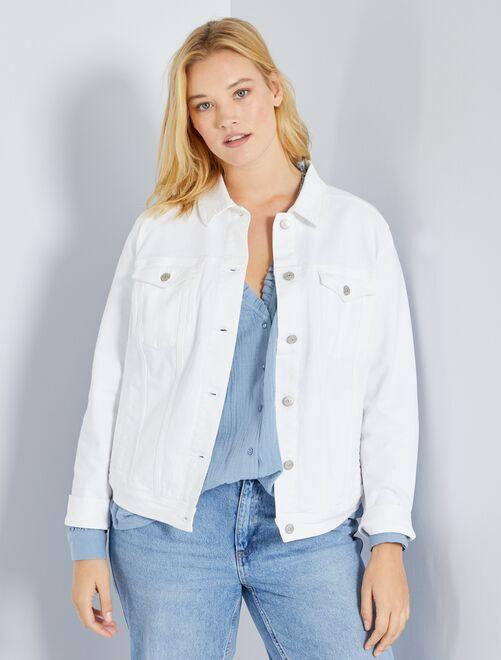 Jeansjasje                                         wit