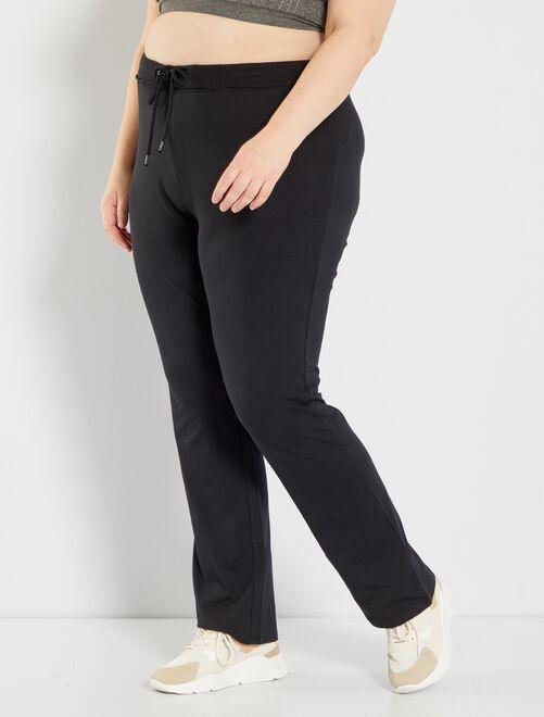 Joggingbroek                             zwart Dames size+