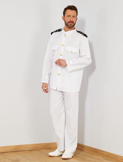Kapiteinskostuum                             wit