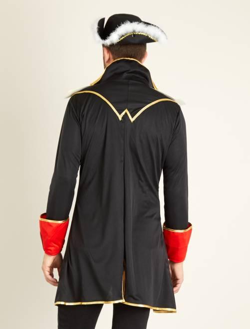 Kapiteinskostuum Heren zwart Kiabi 25,00€
