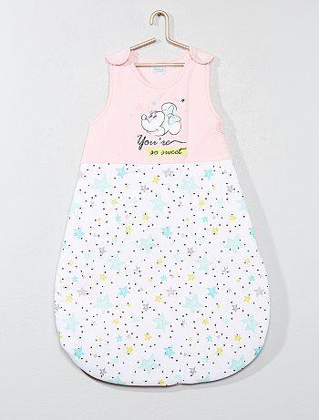 Katoenen babyslaapzak van 'Minnie' - Kiabi