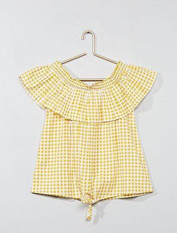 Katoenen blouse - Kiabi