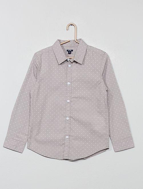 Katoenen blouse                                                     GRIJS