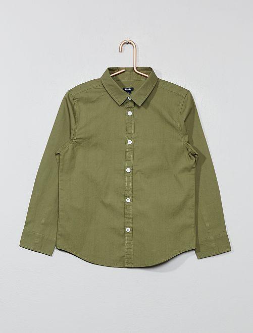 Katoenen blouse                                                     groen