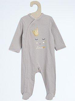 Pyjama, badjas - Katoenen pyjama