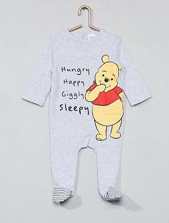 Katoenen pyjama van 'Winnie de Poeh' - Kiabi