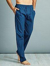 Katoenen pyjamabroek