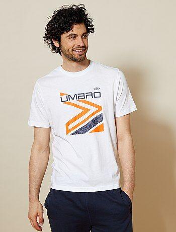 Katoenen sportshirt van 'Umbro' - Kiabi
