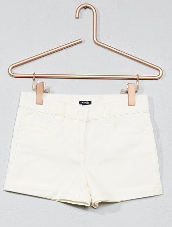 Katoenen stretch short - Kiabi