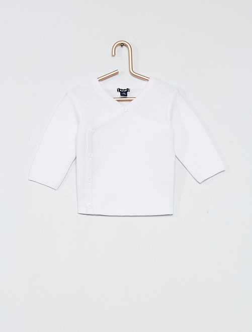 Katoenen vestje 'Ecodesign'                                         wit