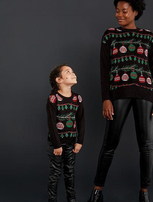 Kersttrui                             zwart