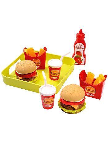 Kinderserviesje fastfood - Kiabi