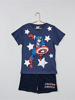 Korte pyjama van 'Captain America' - Kiabi