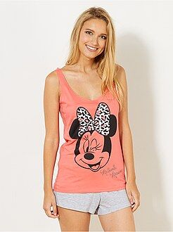Korte pyjama van 'Minnie' - Kiabi