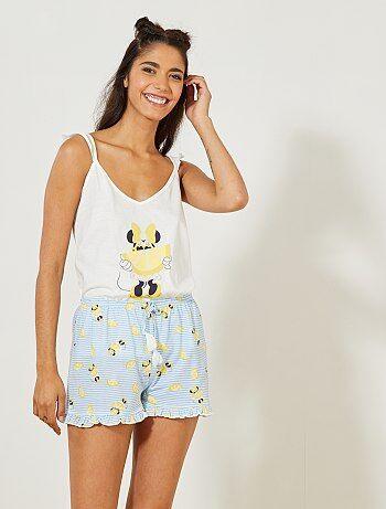 Korte pyjama van 'Minnie' van 'Disney' - Kiabi