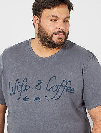 Korte tricot pyjama - Kiabi