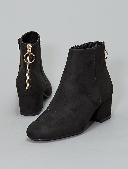 Laarsjes met rits                                         zwart Schoenen