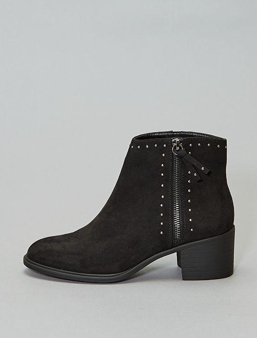 Laarsjes met studs                                         zwart Schoenen