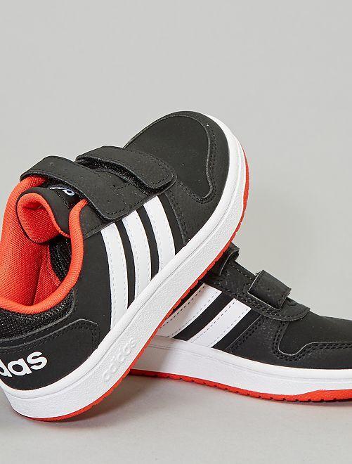 Lage 'Hoops'-sneakers van 'Adidas'                                         ZWART