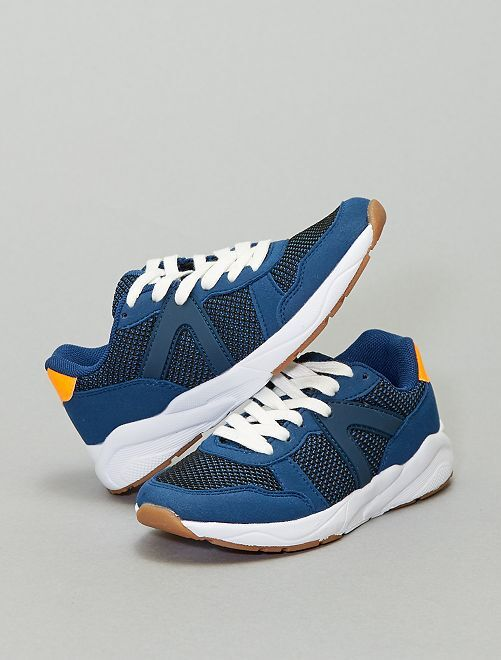 Lage sneakers                             marineblauw