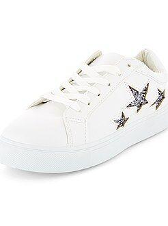 Lage sneakers met 'sterren' - Kiabi