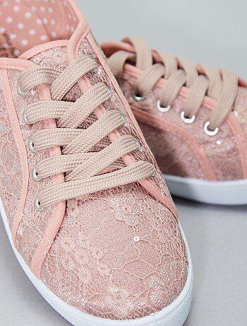 Lage stoffen sneakers - Kiabi