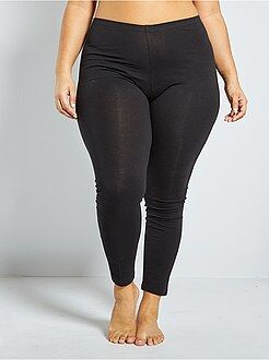 Legging - Lange, katoenen stretch legging - Kiabi