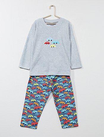 Lange pyjama met een autoprint - Kiabi