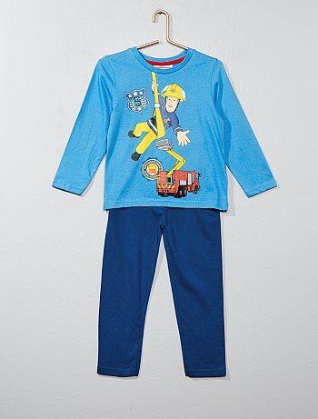 Lange pyjama van 'Brandweerman Sam' - Kiabi