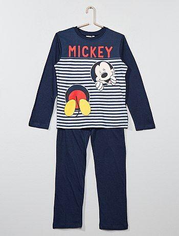 Lange pyjama van 'Mickey Mouse' - Kiabi