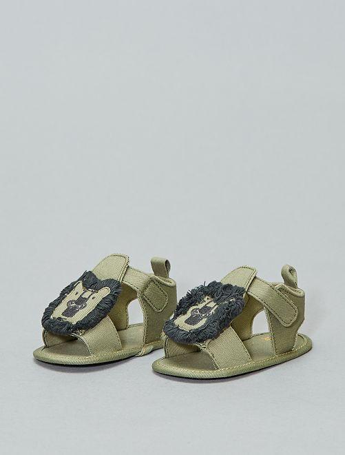 'Leeuw'-sandalen                             KAKI Jongens babykleding