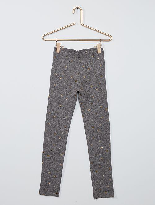 Legging met print 'Ecodesign'                                                                             GRIJS