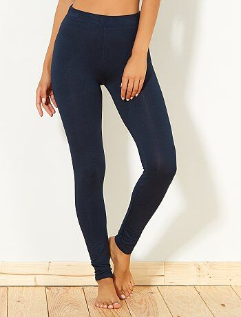Legging van stretch viscose - Kiabi
