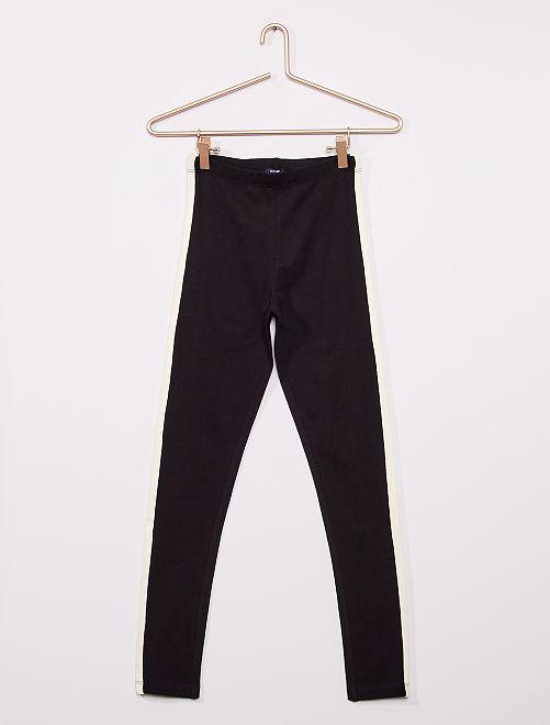 Legging van stretchstof                                         zwart