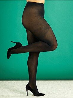 Sokken, panty's - Lichte panty, 200D, grote maten - Kiabi