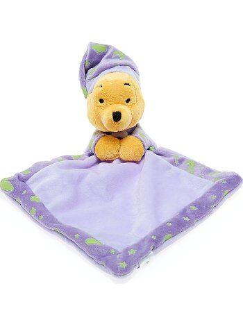 Meisje 0-36 maanden - Lichtgevende knuffeldoek van 'Winnie de Poeh' - Kiabi
