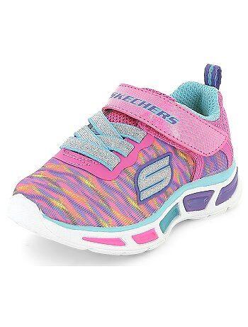 Meisje 0-36 maanden - Lichtgevende multi-sport sneakers van 'Skechers' - Kiabi