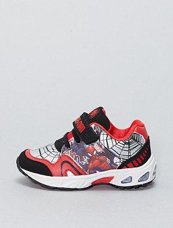 Lichtgevende sneakers van 'Spider-Man' van 'Marvel' - Kiabi