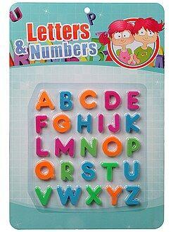 Verkleed kleding - Magnetische letters