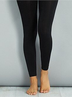 Sokken, panty's - Maillot/legging met fleecevoering - Kiabi