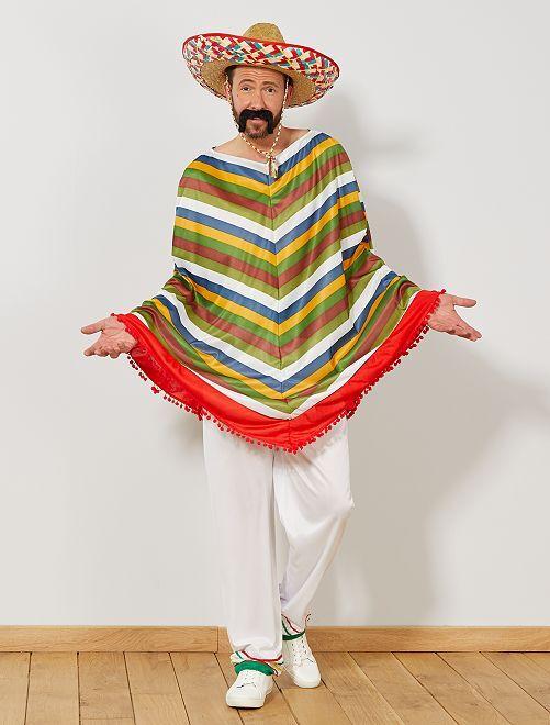 Mexicaans verkleedkostuum                             meerkleurig