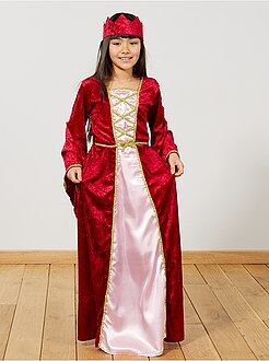 Kinder verkleedkleding - Middeleeuws prinsessenkostuum - Kiabi