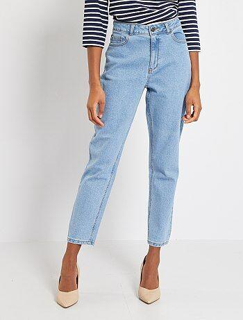 Mom jeans met extra hoge taille - Kiabi