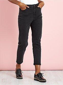 Mom jeans met zeer hoge taille