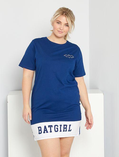 Nachthemd 'Batgirl'                             BLAUW