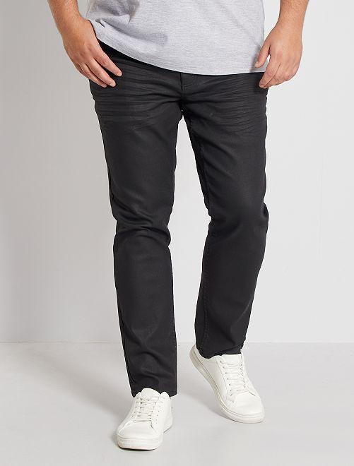 Nauwsluitende broek met 5 zakken                             ZWART