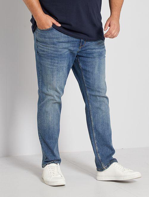 Nauwsluitende jeans L30                                         BLAUW