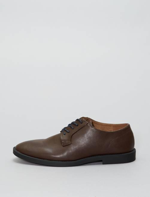 Nette schoenen van imitatieleer                                         bruin Schoenen