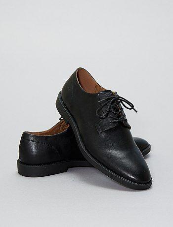 Nette schoenen van imitatieleer - Kiabi